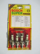 Set of 4 Bosch W5BC spark plugs. Old Stock!